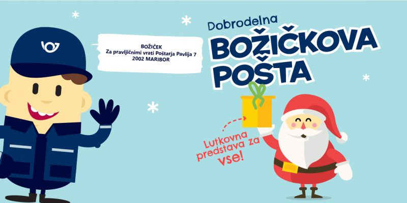 Dobrodelna božičkova pošta